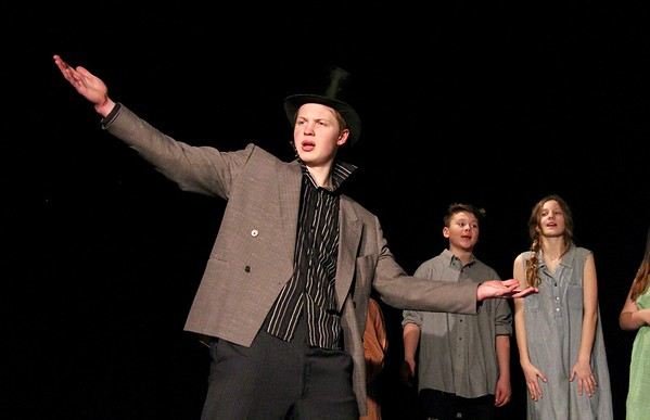 AMHS Presents...Oliver Twist...A Preview II photos by Gary Baker