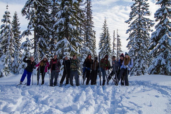01-14 ASWWU Outdoors Cross Country Skiing