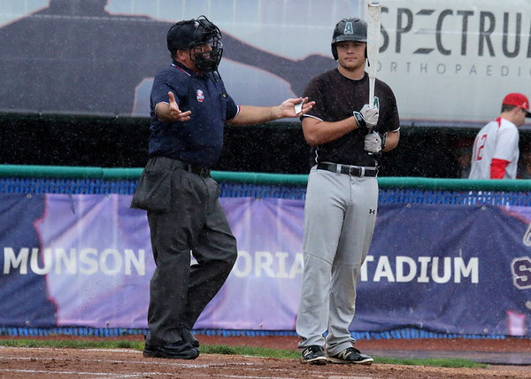 Baseball - Aurora Regional Semi v. Mentor Wet Run