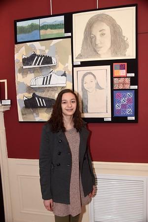 Eagle Art At SVAC photos by Gary Baker