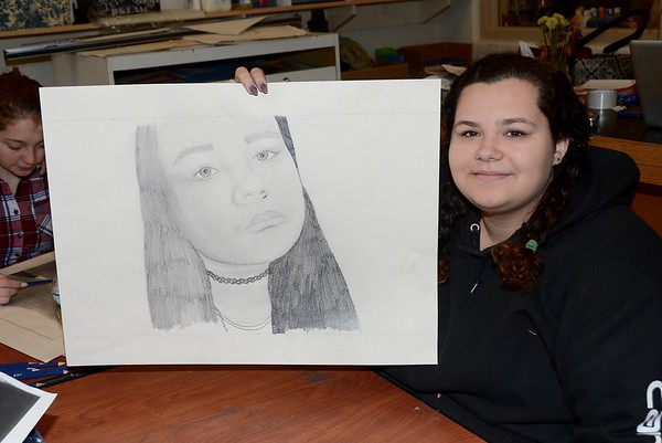 Excellent Work...AMHS Pencil Drawings photos by Gary Baker