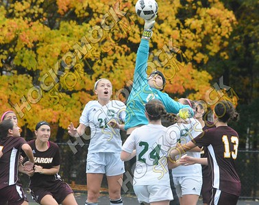 Canton - Sharon Girls Soccer 10-22-16