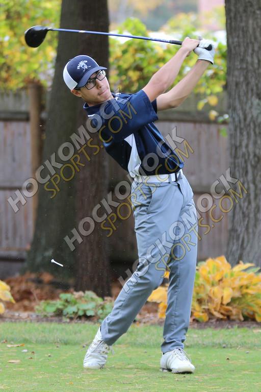one of the FHS golf team