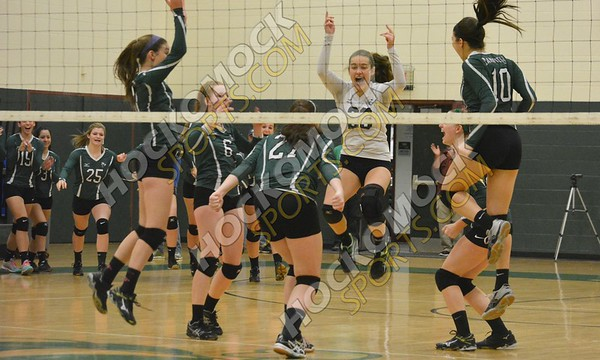 Mansfield - Bishop Feehan Volleyball 11-5-16