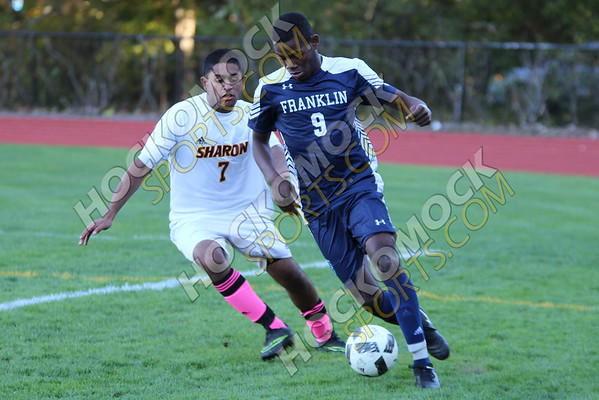 Sharon-Franklin Boys Soccer - 10-14-16