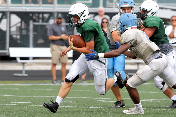 Football - Aurora v WSouth Scrimmage