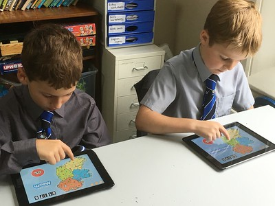 iPads lesson