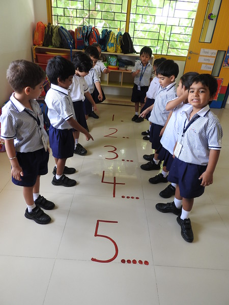 RECOGNITION OF NUMBERS FROM 1 TO 5