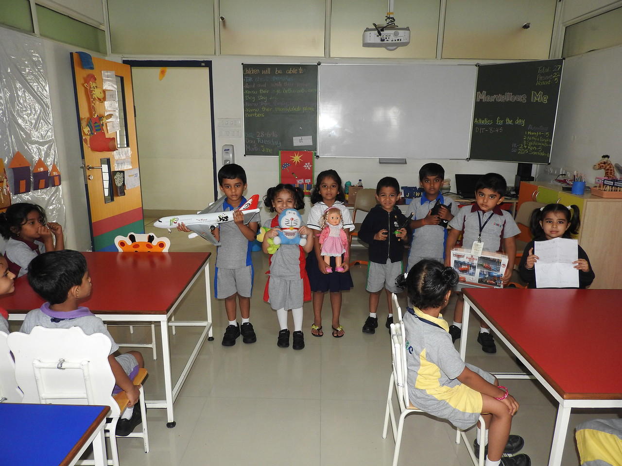 SHOW AND TELL (7)