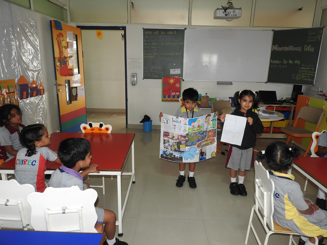 SHOW AND TELL (9)