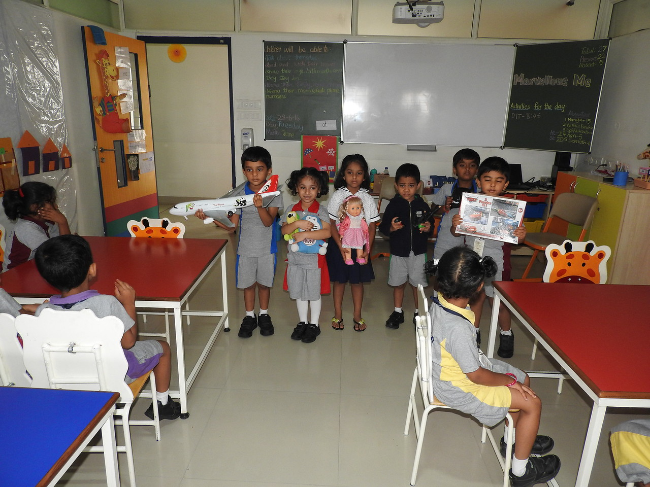 SHOW AND TELL (3)