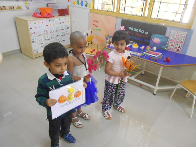 FLOWER RANGOLI AND SHOW AND TELL ACTIVITY (4)