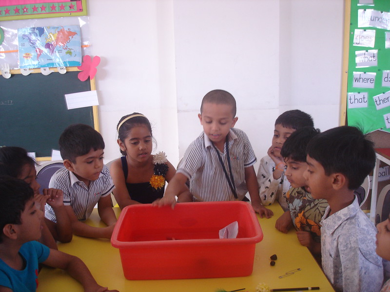 BUILDING COGNITIVE SKILLS THROUGH EXPEIMENT - CONCEPT OF FLOAT AND SINK (2)