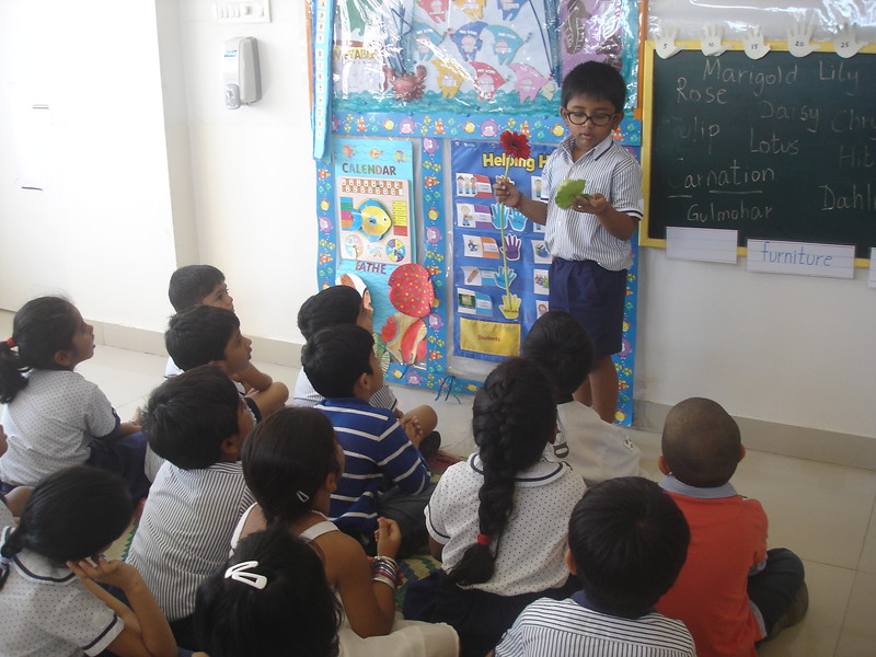 DEVELOPING COGNITIVE AND LANGUAGE SKILLS DURING THE TOPIC DISCUSSION OF SPRING IN BLOOM (3)