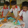 DEVELOPING CREATIVE AND FINE MOTOR SKILLS DURING CRAFT ACTIVITY FOR THE TOPIC PLANET OF LIFE (2)