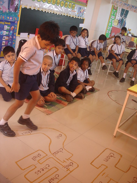 DEVELOPING LANGUAGE SKILLS DURING THE CONCEPT OF CH SOUND WORDS (2)