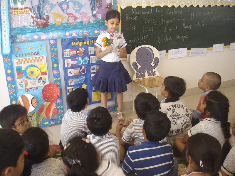 DEVELOPING COGNITIVE AND LANGUAGE SKILLS DURING THE TOPIC DISCUSSION OF SPRING IN BLOOM (7)