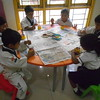 JUMBOS MAKING SUNFLOWER IN ART AND CRAFT CLASS (6)