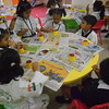 JUMBOS MAKING SUNFLOWER IN ART AND CRAFT CLASS (3)