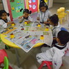 JUMBOS MAKING SUNFLOWER IN ART AND CRAFT CLASS (1)