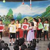 DEVELOPING LANGUAGE AND PRESENTATION SKILLS DURING ASSEMBLY TIME ON THE TOPIC FRUIT BONANZA (1)