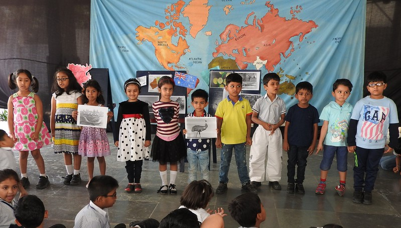 DEVELOPING LANGUAGE AND PRESENTATION SKILLS DURING THE TOPIC PRESENTATION- CONTINENTS