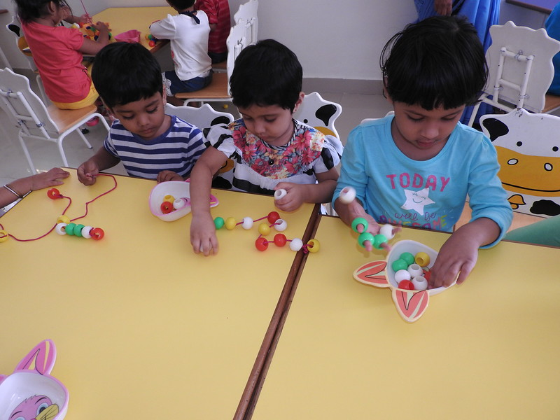 STRINGING BEADS ACTIVITY