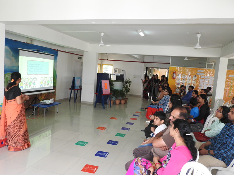NEMOS PARENTS LISTENING WITH RAPT ATTENTION TO THE PP1 CURRICULUM DAY PRESENTATION