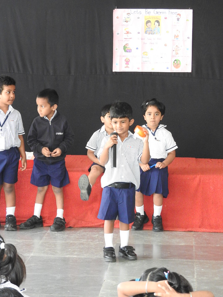 NEMOS DURING THEIR VERY FIRST ASSEMBLY PRESENTATION
