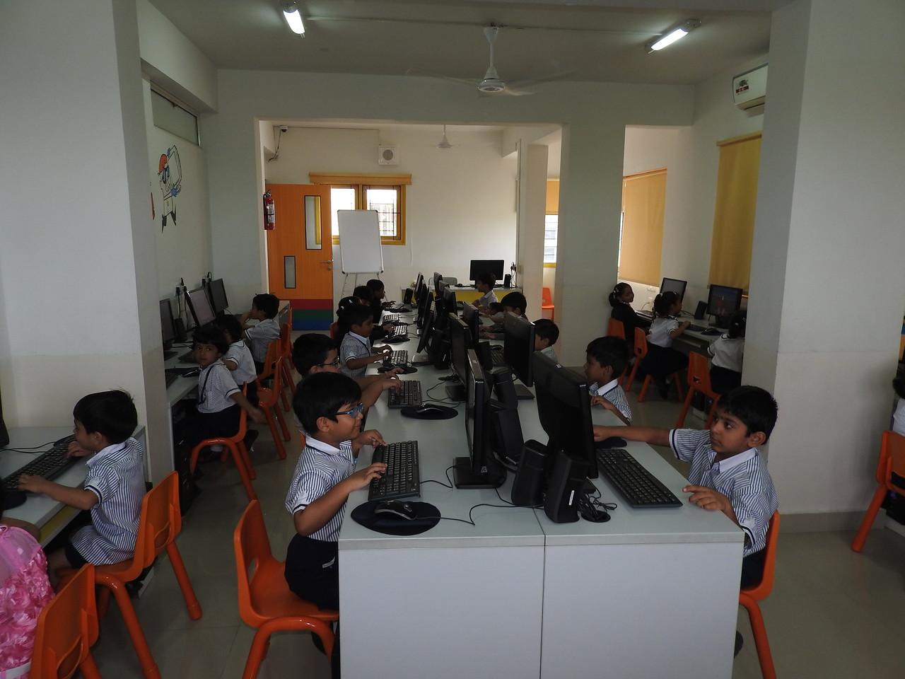 WE ENJOY WORKING ON COMPUTER