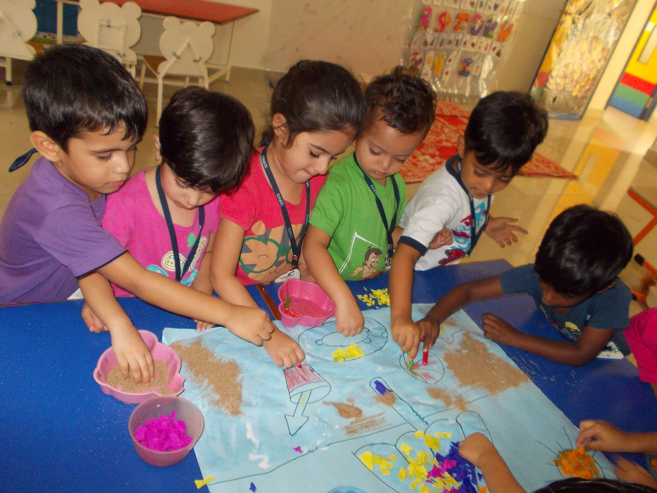SUMMER COLLAGE PAPER PASTING ACTIVITY (1)