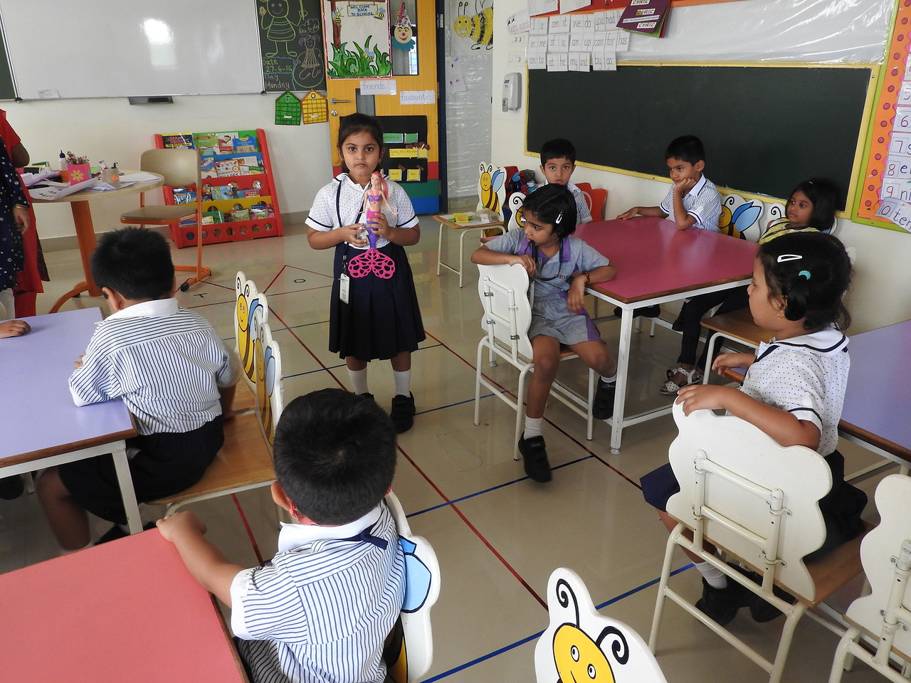 SHOW AND TELL ACTIVITY