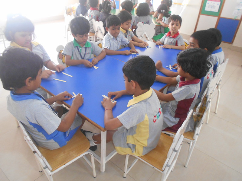 ACTIVITY ON THE FORMATION OF LETTER 'X'