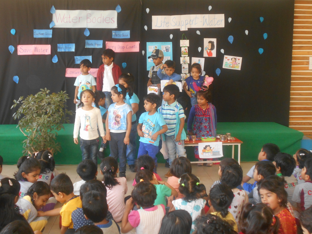 TOPIC PRESENTATION IN ASSEMBLY- LIFE SUPPORT- WATER