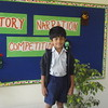 RIYANSH DURING PRELIM ROUND OF STORY TELLING COMPETITION