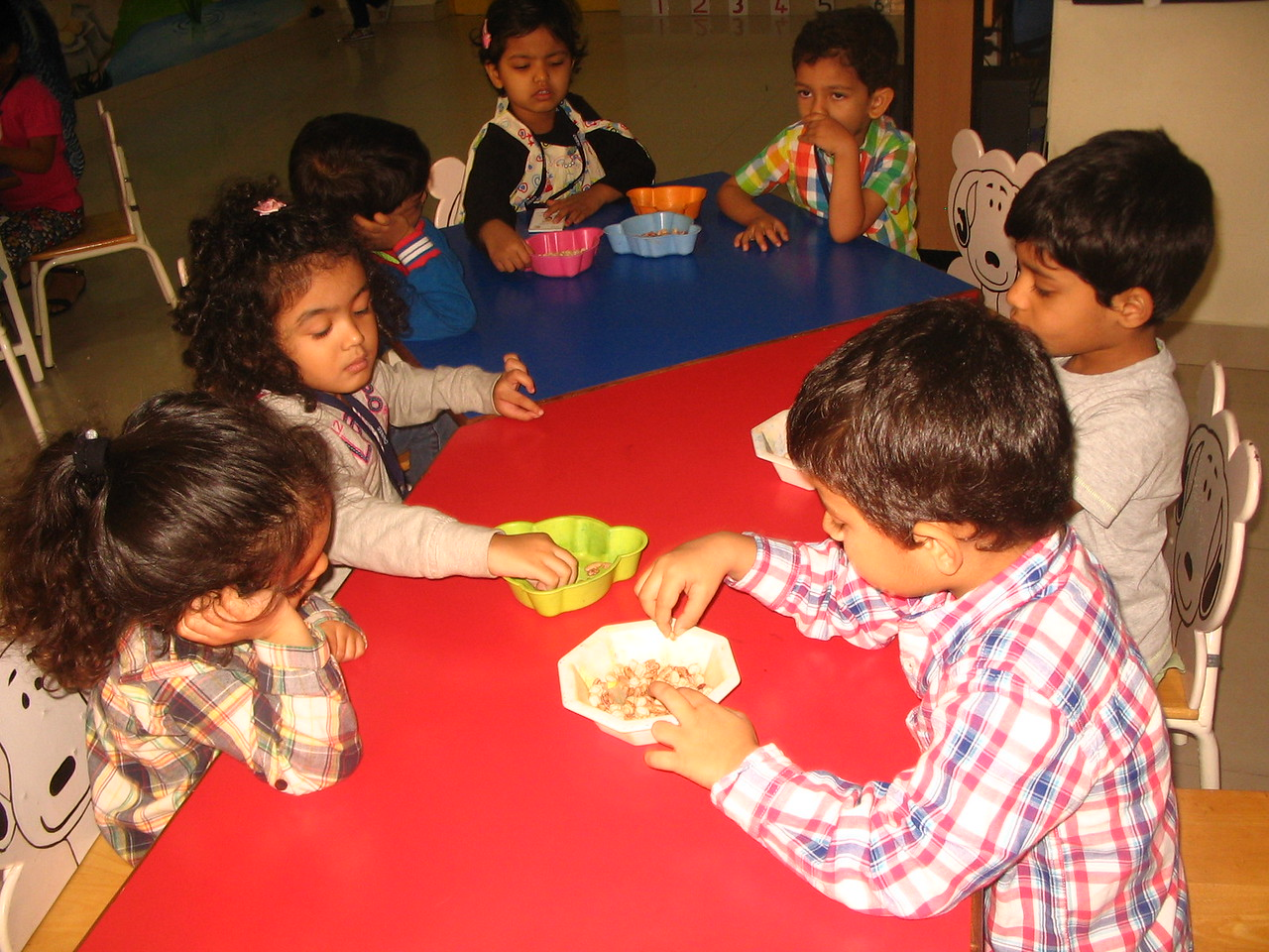 DEVELOPING FINE MOTOR, COGNITIVE AND SENSORIAL SKILLS- SORTING OF SEEDS (5)