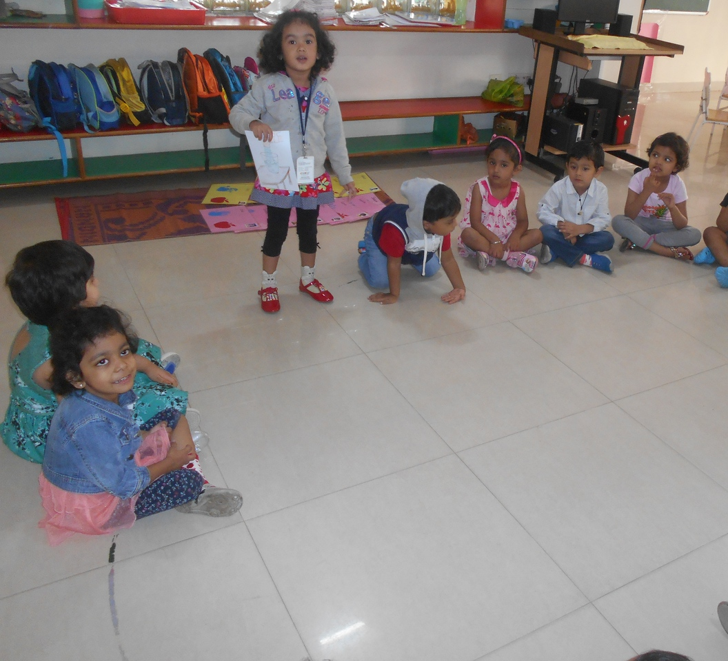 LANGUAGE AND COMMUNICATION SKILLS AND SOCIAL SKILLS- SHOW AND TELL ACTIVITY (1)