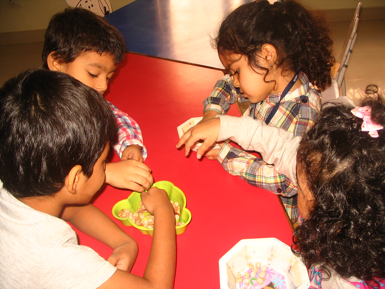 DEVELOPING FINE MOTOR, COGNITIVE AND SENSORIAL SKILLS- SORTING OF SEEDS (3)