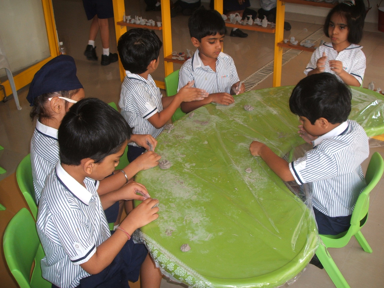 CLAY MODELLING CLASS 3