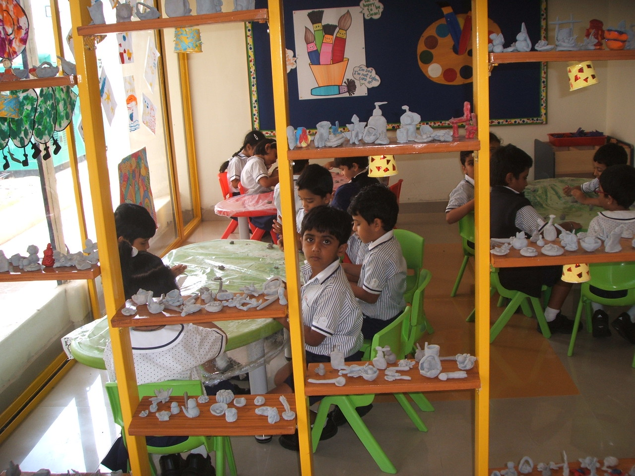 CLAY MODELLING CLASS 1