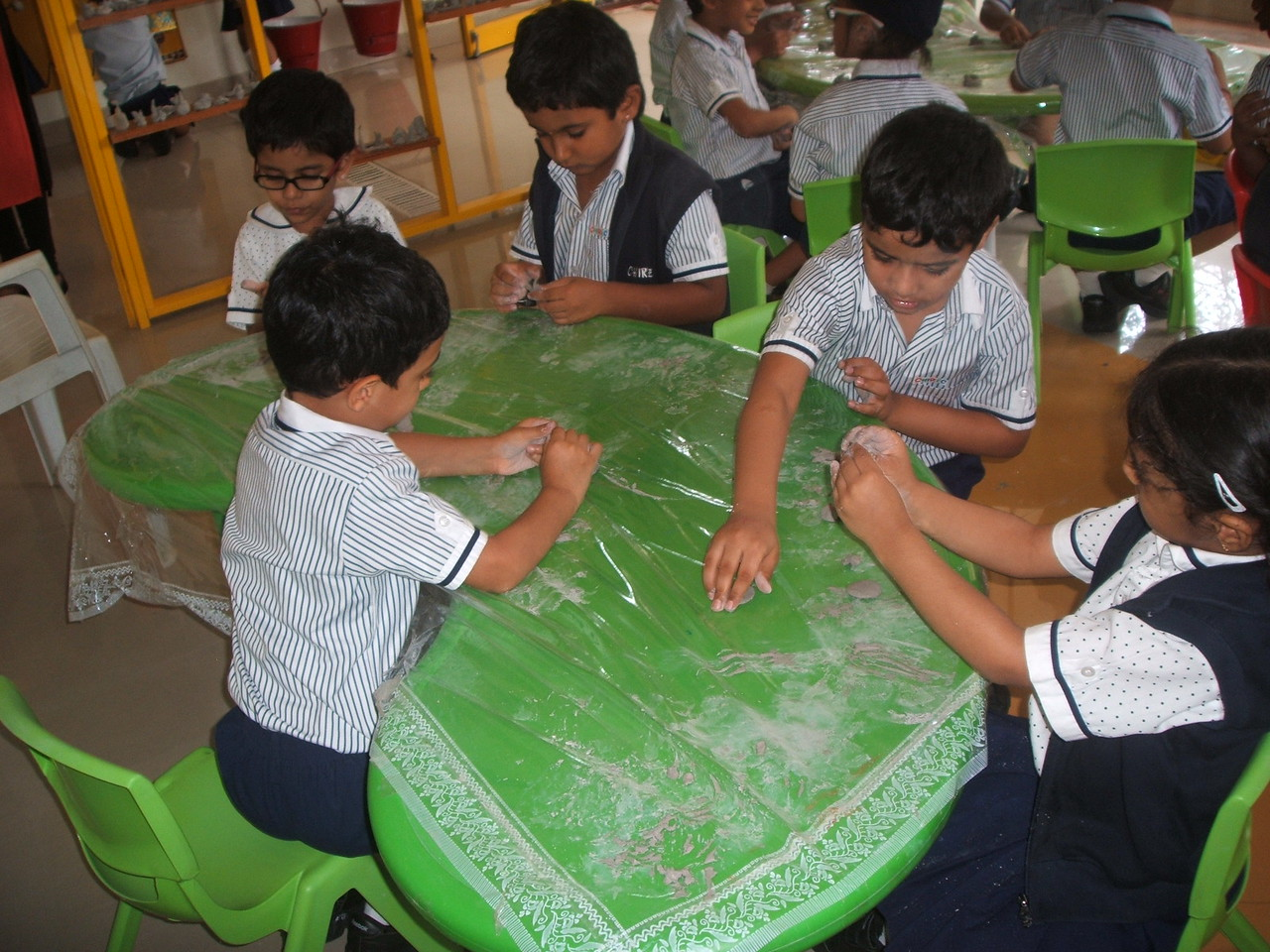 CLAY MODELLING CLASS 2