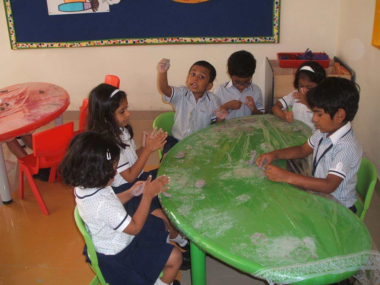CLAY MODELLING CLASS 5