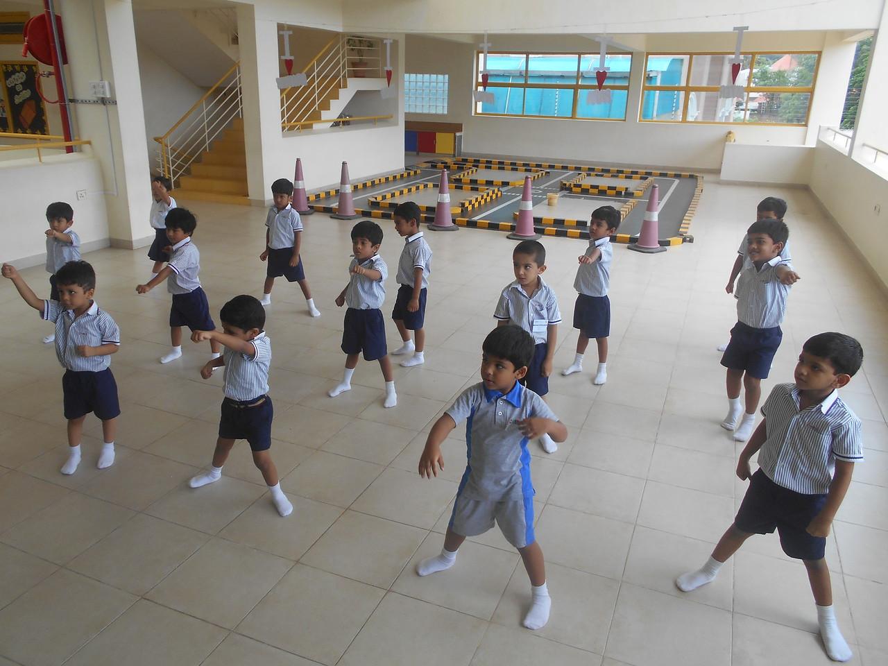 Taekwondo ready!