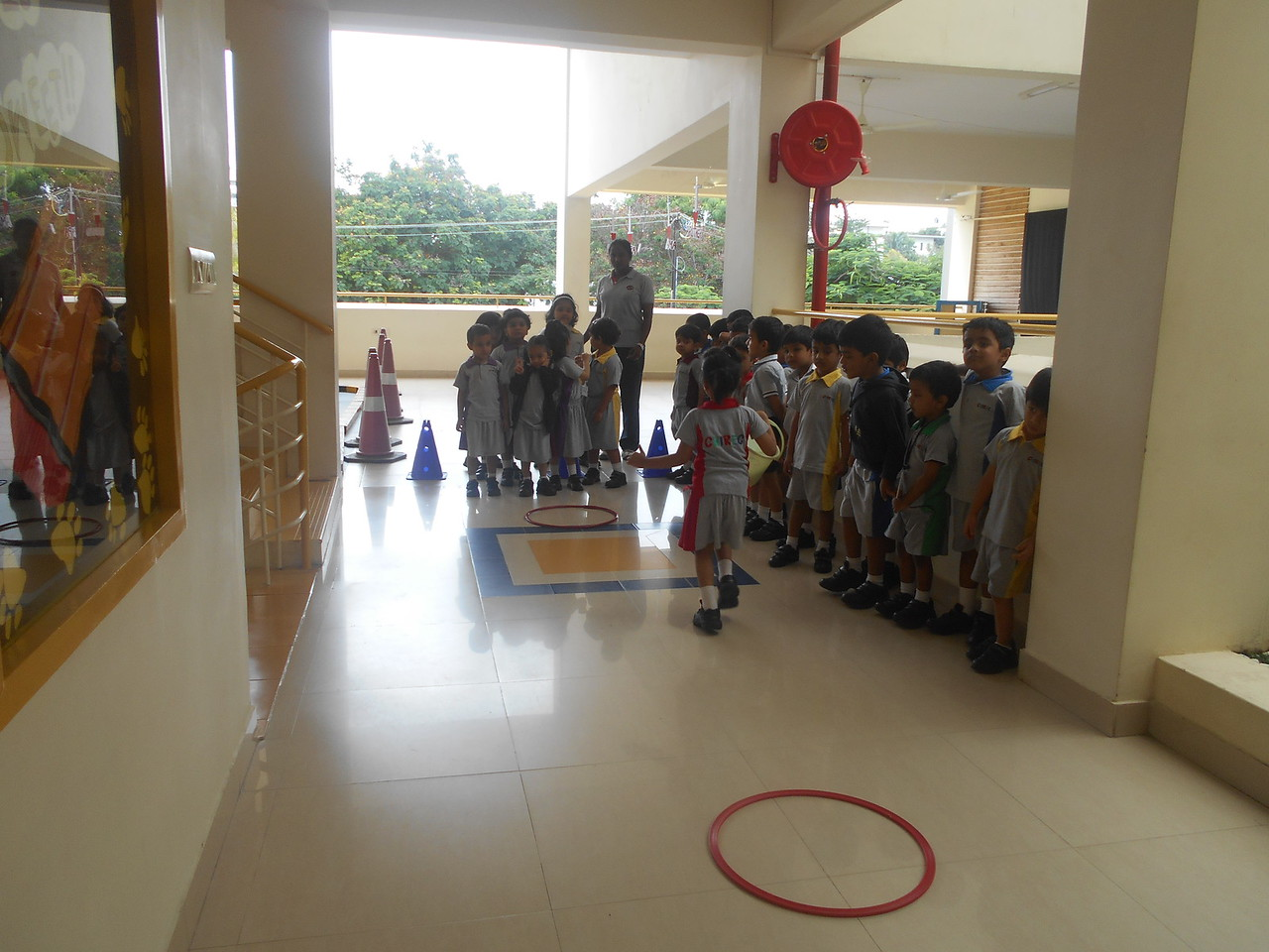 Following rules to play Game in P E T class