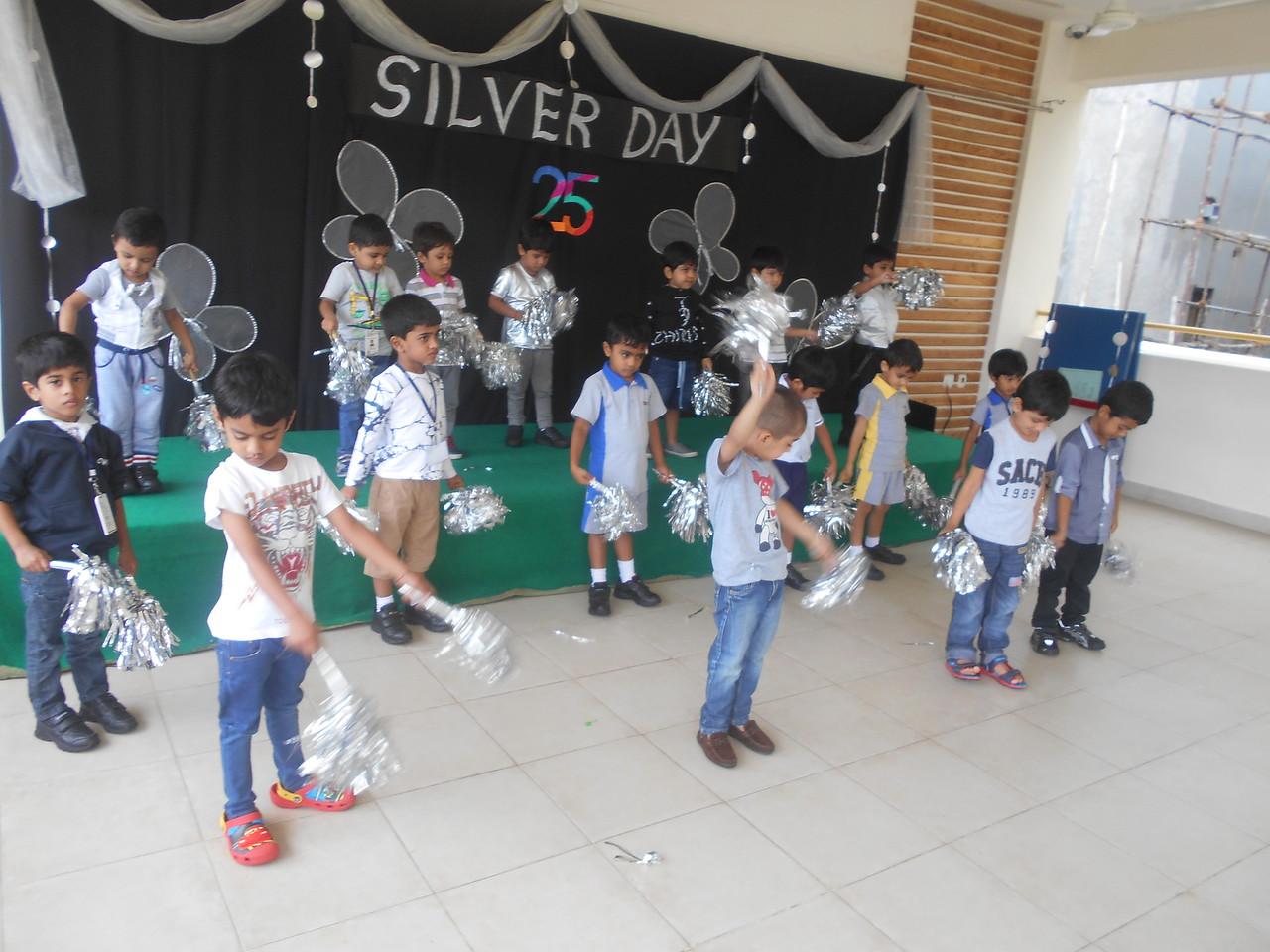 Silver day celebration