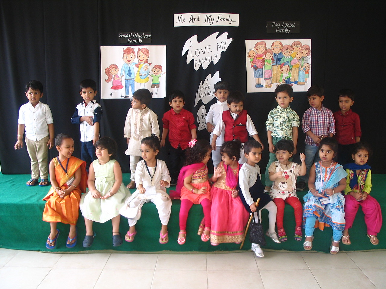 CHILDREN DRESSED AS FAMILY MEMBERS!! (1)