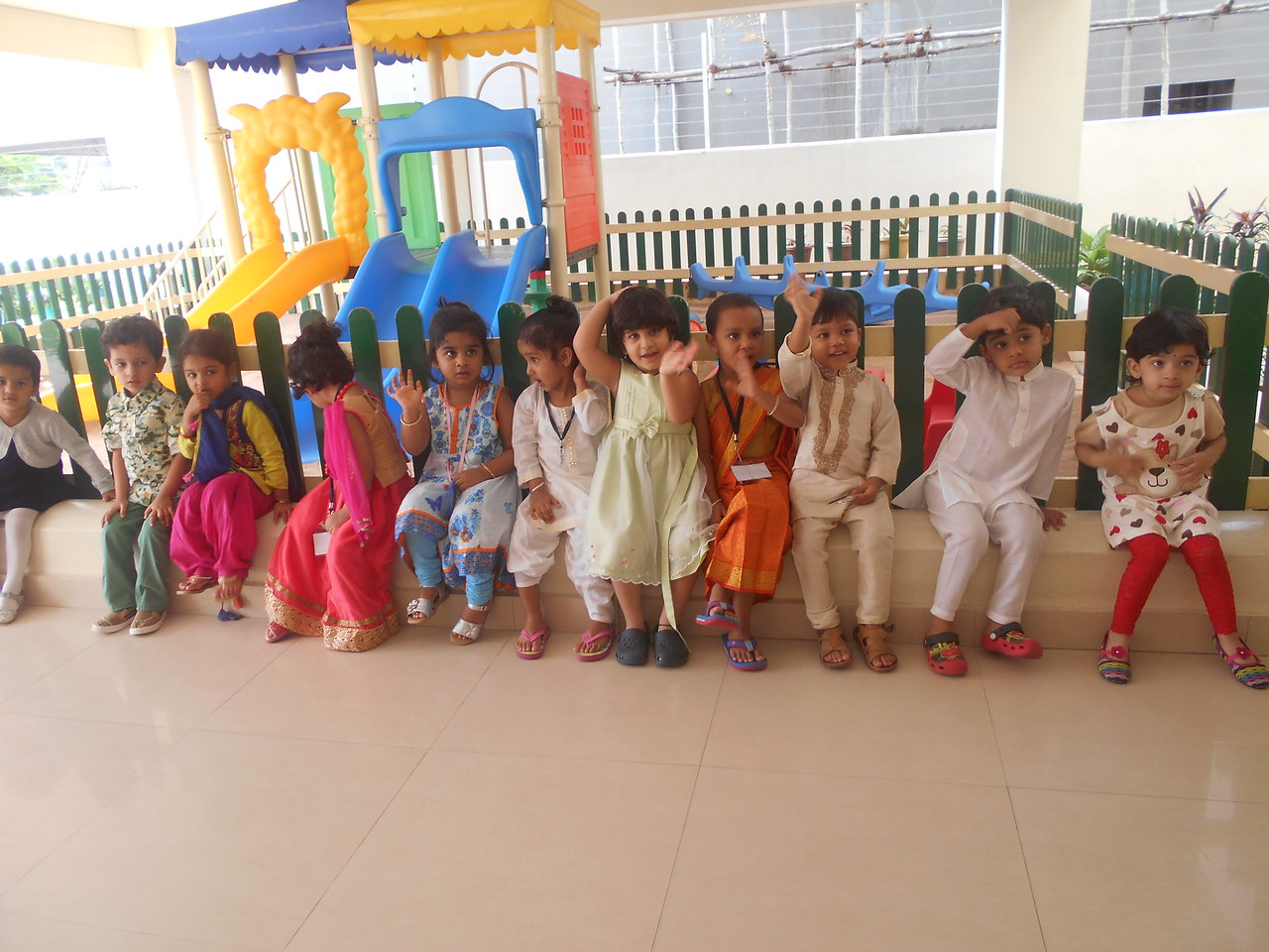 CHILDREN DRESSED AS FAMILY MEMBERS!! (3)