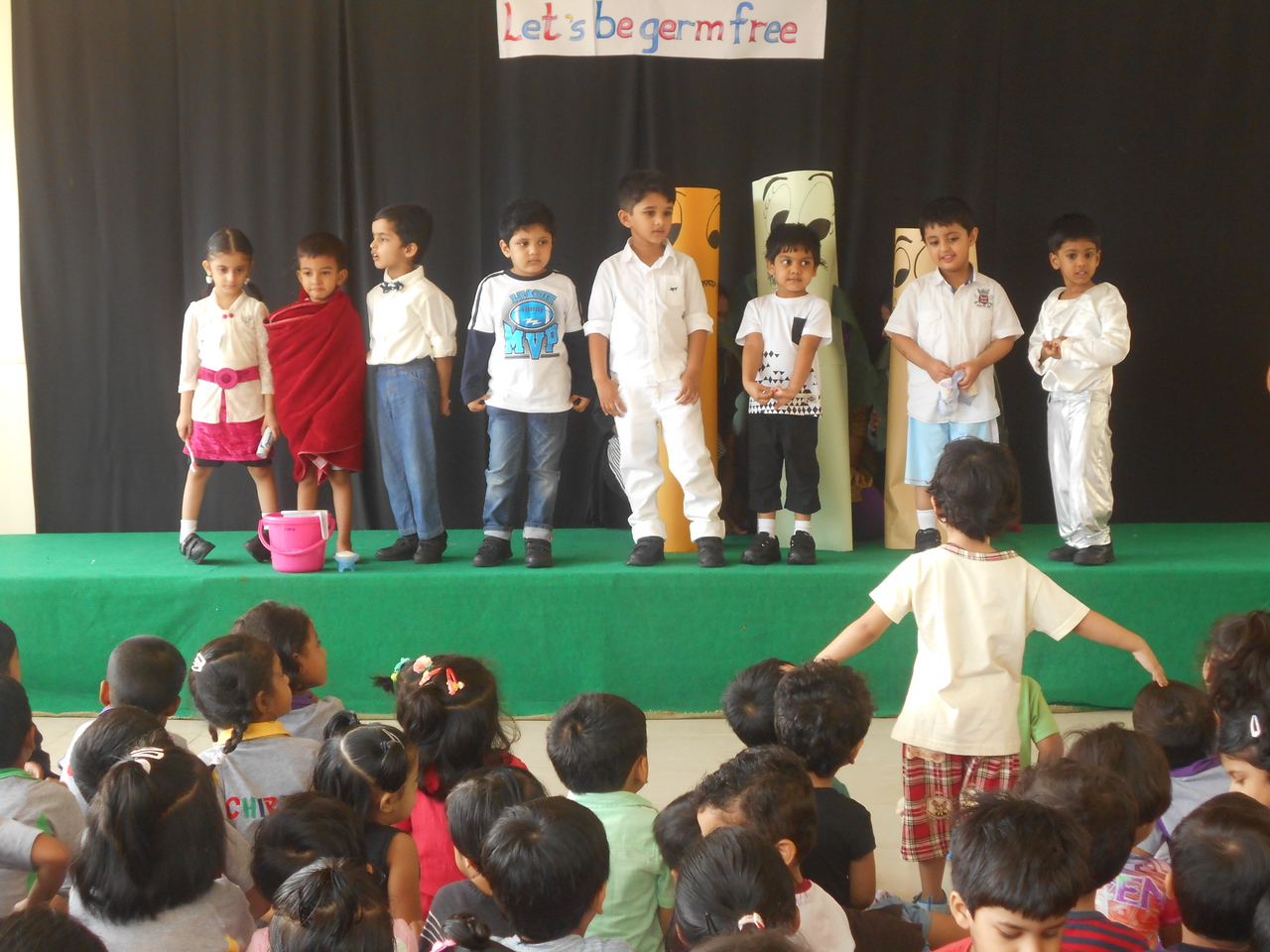 TOPIC PRESENTATION-LETS BE GERM FREE