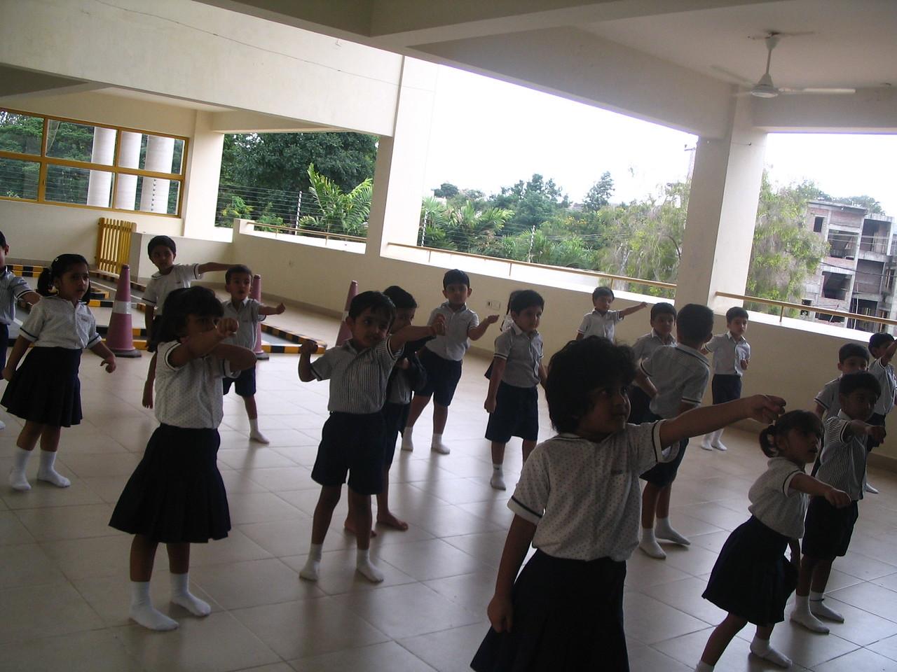 TIGGERS AT TAEKWONDO CLASS