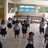 CHILDREN IN TAEKWONDO CLASS